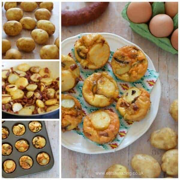 Easy delicious mini spanish omelettes recipe - perfect for family friendly meals picnics and lunch boxes - Eats Amazing UK