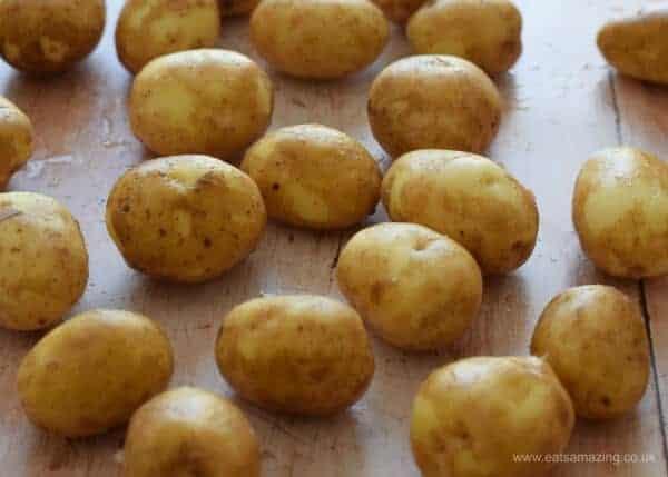Easy spanish omelettes made with Cornish new potatoes - Eats Amazing UK