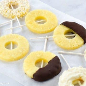 Super Easy Pineapple Ice Pops Recipe – 4 Ways!
