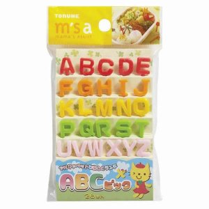 Alphabet Bento Food Picks Set from the Eats Amazing UK Bento Accessories Shop - Making Fun Food for Kids
