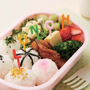Alphabet Bento Food Picks from the Eats Amazing UK Bento Accessories Shop - Making Food Fun for Kids