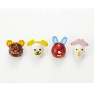 Animal Ears Bento Pick and Cutter Set from the Eats Amazing UK Bento Shop - Making Fun Food for Kids