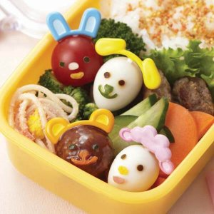 Animal Ears Food Pick and Cutter Set from the Eats Amazing UK Bento Shop - Making Fun Food for Kids