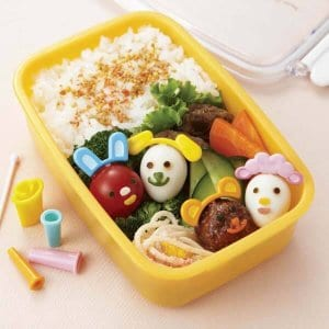 Animal Ears Pick and Cutter Set from the Eats Amazing Shop - Fun Bento Accessories UK
