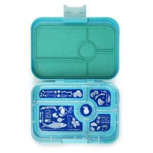 Antibes Blue Tapas 5 larger Yumbox bento box for kids and adults from the Eats Amazing UK Bento Shop