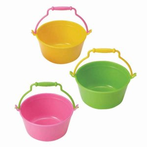 Bright Bucket Bento Cups - Set of 3 from the Eats Amazing Shop - UK Bento Accessories