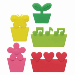 Bright Silicone Bento Box Dividers - Set of 5 from the Eats Amazing Shop - UK Bento Accessories