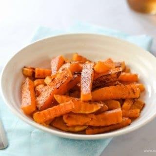 Crinkle Cut Butternut Squash Fries Recipe