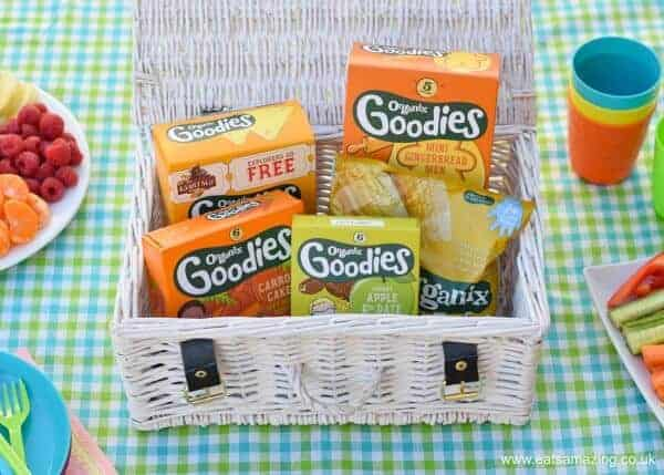Delicious and healthy Organix snacks are perfect for a family picnic - Eats Amazing UK