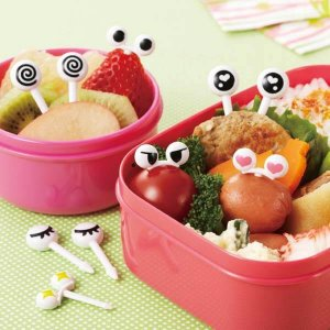 Googly Eye Bento Food Picks 2 - Set of 10 from the Eats Amazing Shop - Fun Kids Bento Accessories UK