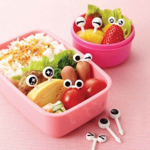 Googly Eye Bento Food Picks - Set of 10 from the Eats Amazing Shop - Fun Bento Accessories UK