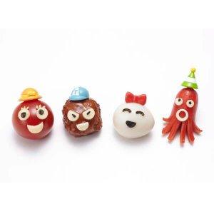 Hat Bento Food Picks - Set of 8 from the Eats Amazing Shop - Fun UK Bento Accessories