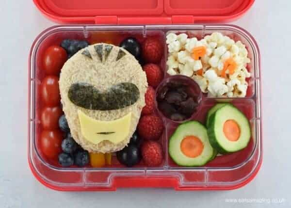 power rangers bento lunch eats amazing. Black Bedroom Furniture Sets. Home Design Ideas
