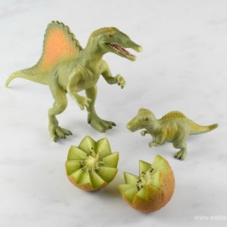 How to Make a Kiwi Fruit Dinosaur Egg