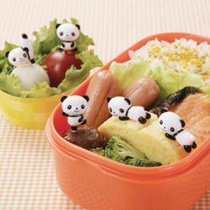 Panda Bento Food Picks - Set of 8 from the Eats Amazing Shop - Fun Kids Bento Accessories UK