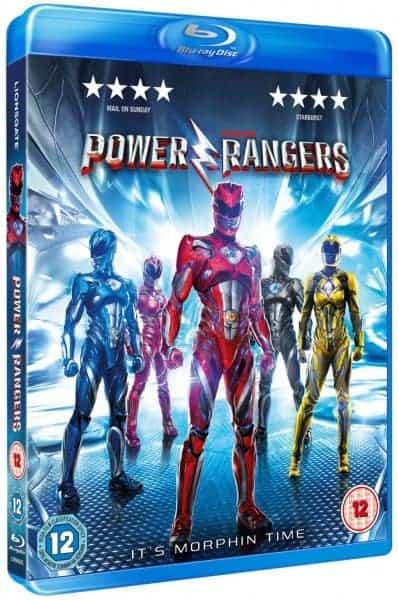 Power Rangers 2017 Blueray release
