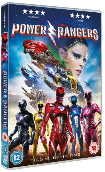 Power Rangers 2017 DVD release