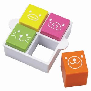 Square Sandwich Cutter and Animal Stamps Set from the Eats Amazing Shop - UK Bento Accessories