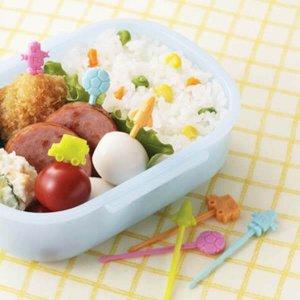 Toys Train Rocket Football Robot Bento Food Picks - Set of 12 from the Eats Amazing Shop - Fun Kids Bento Accessories UK