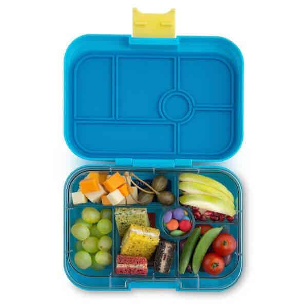 yumbox classic kai blue eats amazing. Black Bedroom Furniture Sets. Home Design Ideas