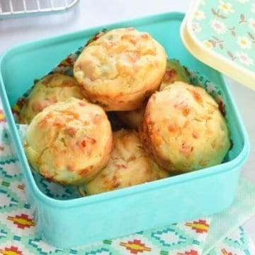 Rainbow Vegetable Savoury Muffins Recipe