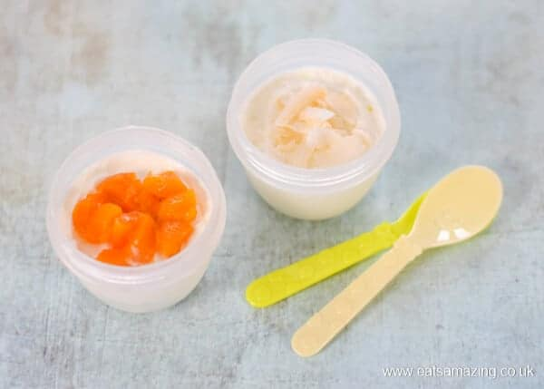8 healthy yogurt toppings for kids - tinned and dried fruit - Eats Amazing UK