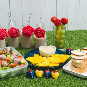 Beauty and the Beast Themed Picnic with 6 recipes - perfect for party food too - cute food for kids