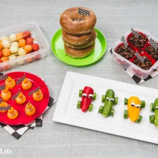 Disney Cars Themed Picnic Recipes
