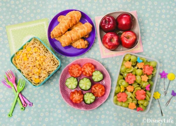 Disney tangled themed picnic recipes eats amazing for Cool food ideas for kids