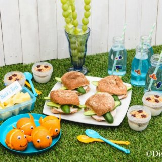Finding Nemo Themed Picnic Recipes