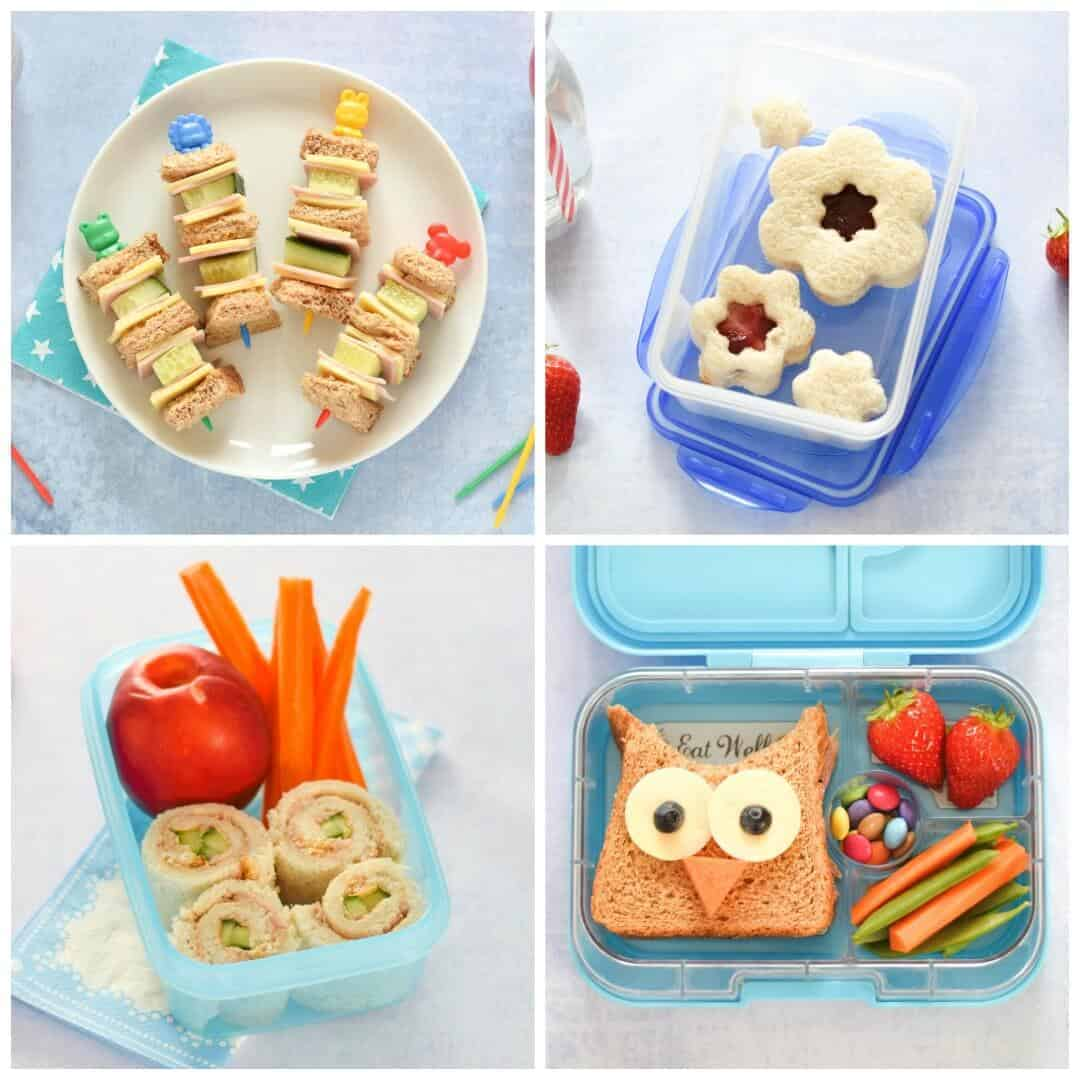 4 easy fun sandwich ideas for kids for Cool food ideas for kids