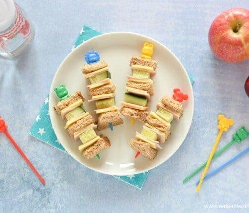 Fun And Easy Sandwich Kebabs For Kids Eats Amazing