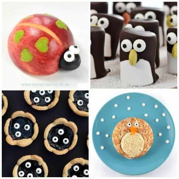 Fun ways to add eyes to make fun food for kids - ready made candy eyeballs are perfect for making food fun - Eats Amazing UK