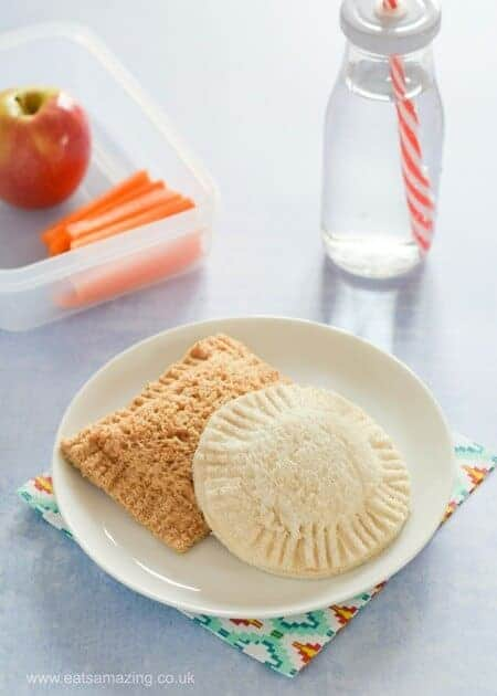 How to make homemade uncrustables sandwiches for kids - fun healthy lunchbox food ideas from Eats Amazing UK - fun food for kids