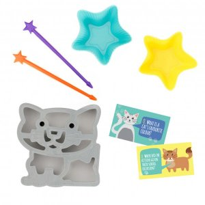 Cat Lunch Punch Cutter set from the Eats Amazing UK Bento Shop - Cat sandwich cutter and fun food kit