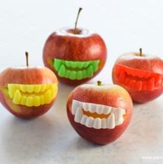 Easy Vampire Apples – Fun Halloween Food