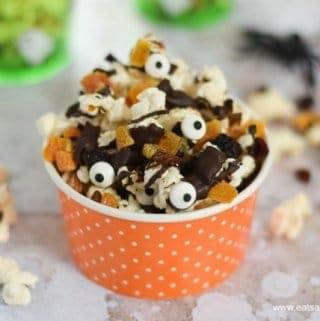 Dark Chocolate Halloween Popcorn