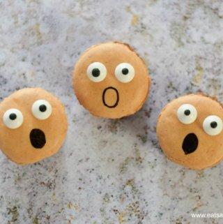 How to Make Spooky Screaming Macarons