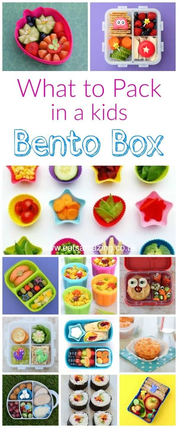 How to make a bento - what foods to pack in a kids bento box - all the healthy lunch box food ideas you need - Eats Amazing UK #bento #bentobox #lunchboxideas #lunch #schoollunch #lunchideas #kidsfood #healthykids #backtoschool #lunchtime