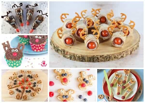 25 Fun Reindeer Themed Foods For Kids
