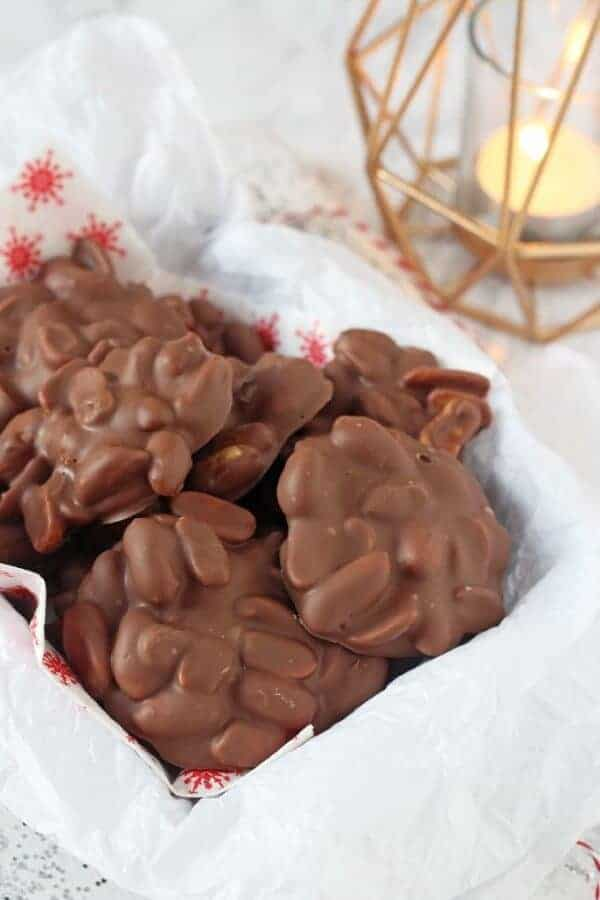 30 Easy Edible Gifts Kids Can Make for Christmas - Peanut Clusters from My Fussy Eater