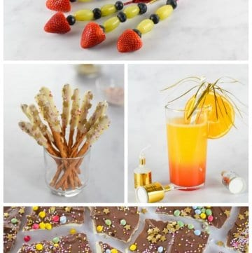 4 fun and easy recipes to celebrate New Years Eve with kids - fun food for kids from Eats Amazing UK