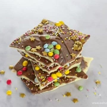 Easy Double Chocolate Fireworks Bark Recipe