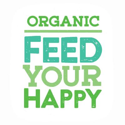 Organic Feed Your Happy Logo