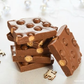 Quick & Easy 3 Ingredient Maltesers Chocolate Fudge Recipe