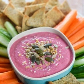 3 Ingredient Easy Beetroot Dip Recipe