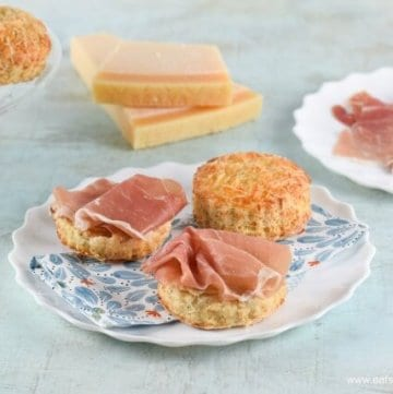 Easy Cheese Scones Recipe with Grana Padano & Prosciutto di San Daniele