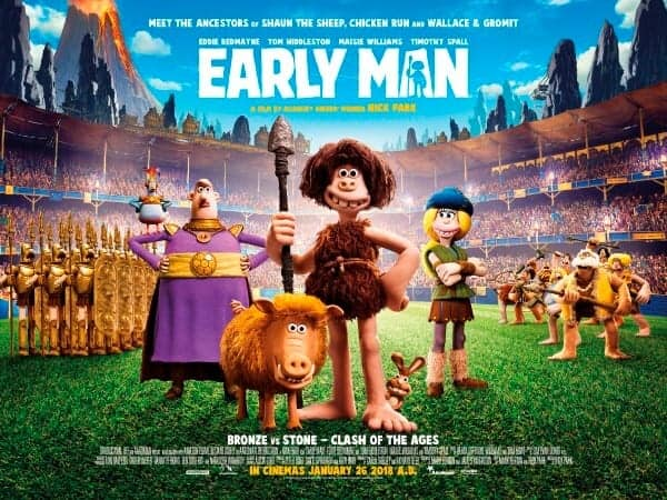Early Man Film - in cinemas 26th January