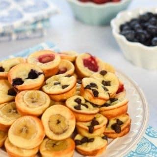 Goats Yogurt Mini Pancake Bites Recipe