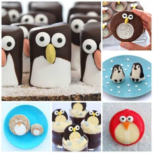Over 15 fun penguin themed food ideas for kids - perfect for winter themed party food and fun snacks - Eats Amazing UK